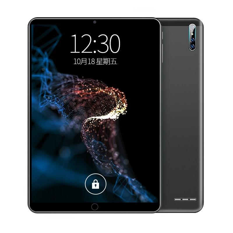 2020 Новые планшеты Android 9,0 планшетный ПК 10,1 дюймовый десятиядерный WIFI игровые планшеты Pad 8 + 128G с двумя SIM-картами с GPS