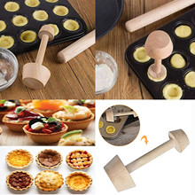 Mold-Handle for Home Kitchenware Supplies -45 Cake-Base Snack Wooden Making Double-Head