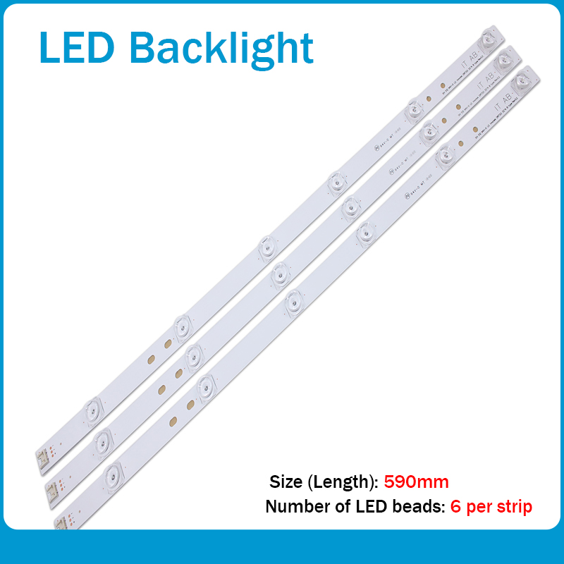 NEW 30pcs X TV LED Strips 6-lamps For LG 32