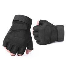 Мужские тактические перчатки без пальцев rekaviczki taktyczne, без пальцев, для страйкбола, велосипеда