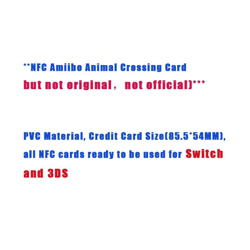 Wa10 Sylvana Custom Design Animal Crossing Amiibo Card Welcome
