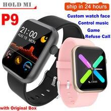 Montre intelligente hommes femme pleine Smartwatch jeu intégré IP67 étanche fréquence cardiaque moniteur de sommeil pour iOS Android téléphone R3L