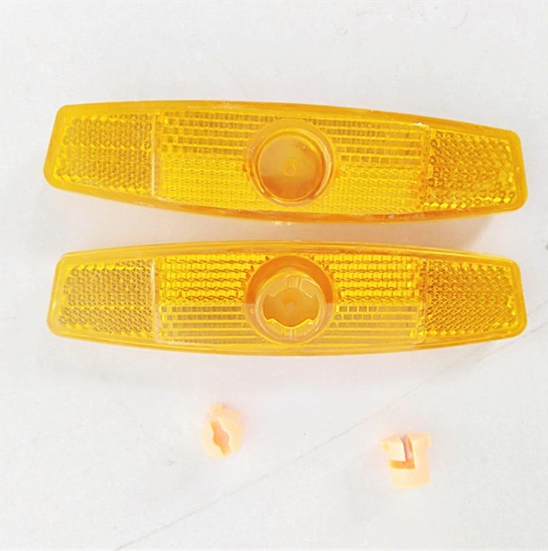 Bike Bicycle Spoke Reflector Warning Light Safety Assurance Wheel Reflective