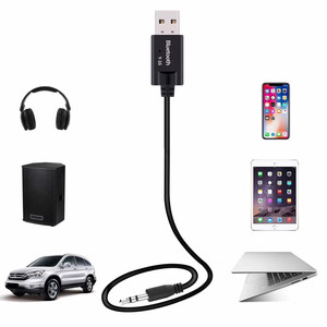 Image 3 - VIKEFON Bluetooth レシーバー Usb オーディオレシーバーの Bluetooth 5.0 ドングル 3.5 ミリメートル AUX ジャックワイヤレス車音楽トランスミッターアダプターケーブル