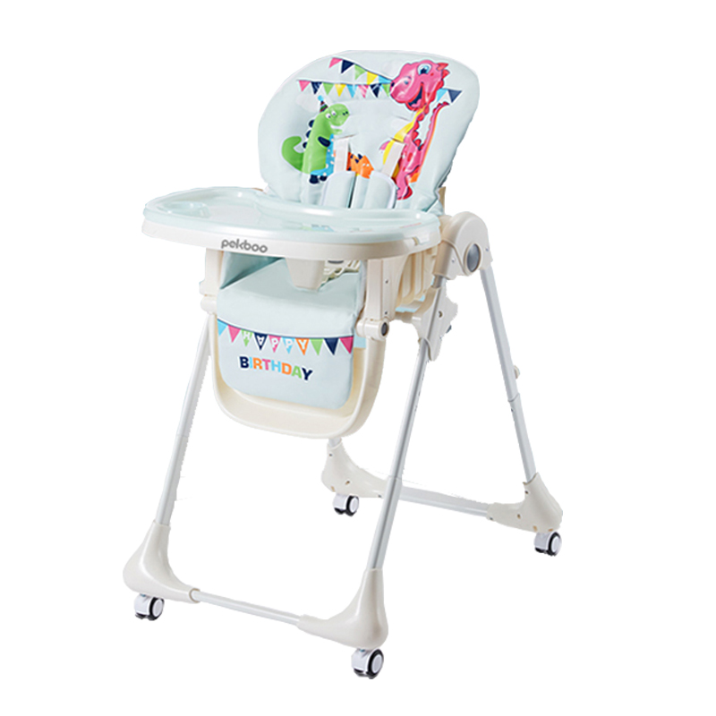 Export Multi-function Baby Dining Chair Light Folding Children's Dining Chair Portable Baby Chair Dinette