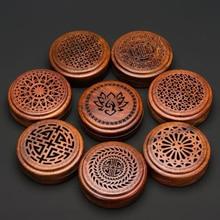 Encensoir vietnamien en bois de rose, encensoir en bois de santal avec couvercle magnétique, encensoir pour décoration pour la maison, salon de thé