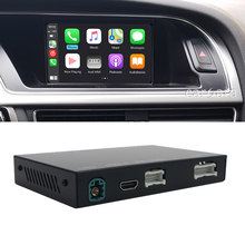 Apple carplay adapter android auto add-on interface for A4 A5 S5 B8 MMI system concert symphony radio with carplay apps airplay