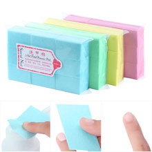 600Pcs/Pack Nail Polish Cleaner Paper Pad Nail Polish Remover Cotton Wipes Manicure Cleaning Wipes Cotton Lint Free Pads Paper
