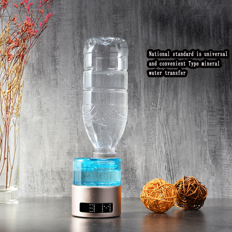 SPE/PEM Water Ionizer Bottle Hydrogen Generator Water Maker Portable Hydrogen-Rich High H2 Dual Use Hydrogen Lonizer Machine