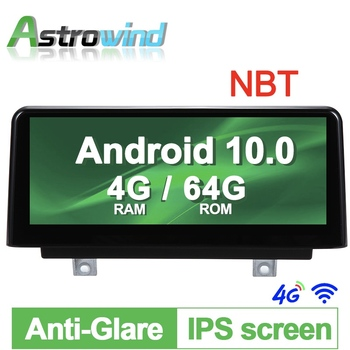10.25 inch Android 10.0 Car GPS Navigation System Media Stereo Radio For BMW 1 Series F20 F21 for BMW 2 Series F23 Cabrio NBT image