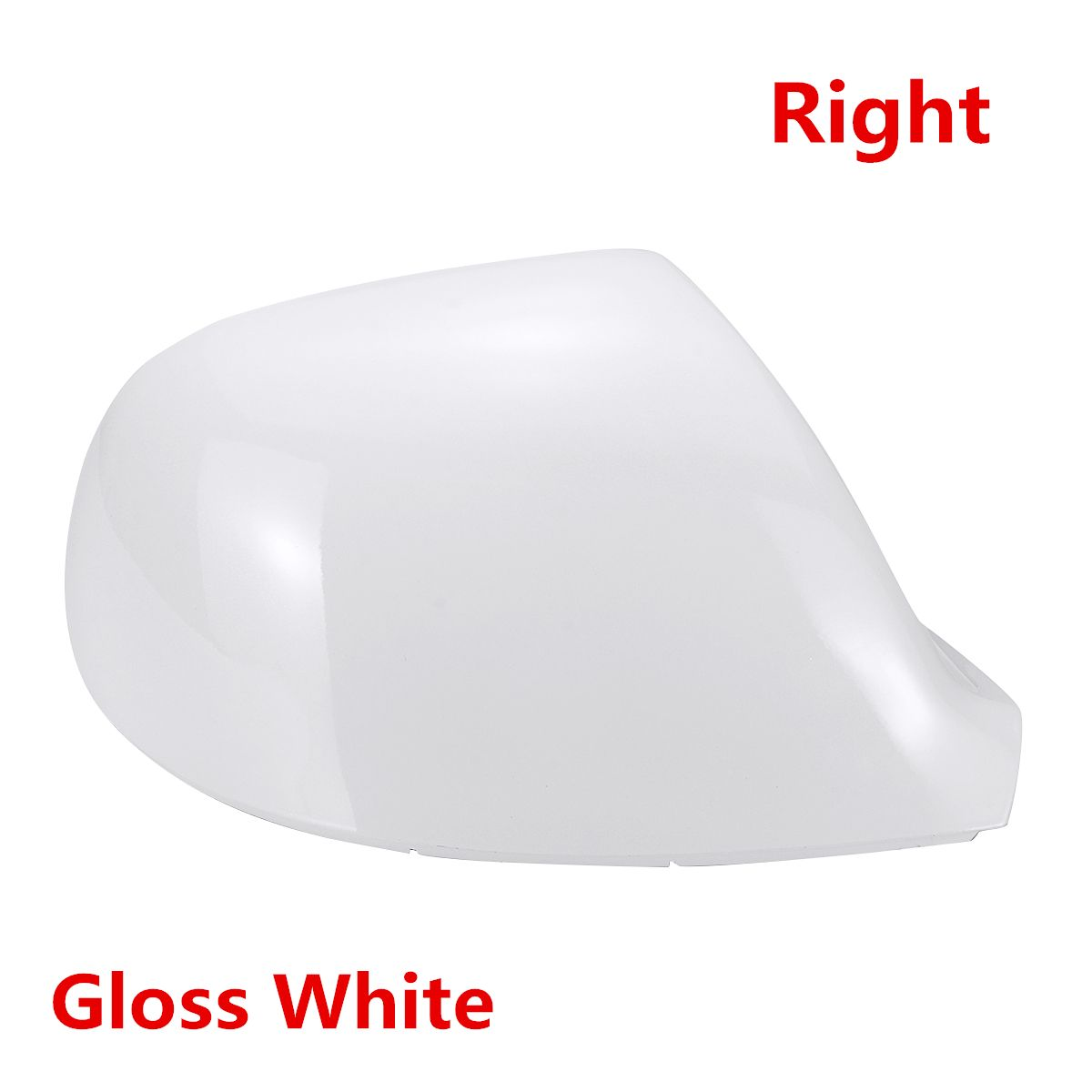 Left Hand Side 1pc Black Door Wing Mirror Cover for VW Transporter T6 2015 on