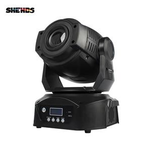 Image 2 - Projecteur de lumière de scène 2 pièces LED Spot 90W avec prisme à 6 faces 60W, effet DMX512 pour effet Disco DJ