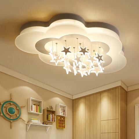 novas luzes de teto do quarto das