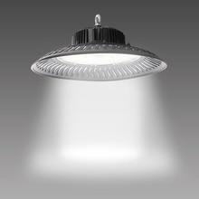50 واط 200 واط مصباح مرتفع معلق من السقف تركيبات 14000lm 6500 كيلو ضوء النهار الصناعية التجارية خليج الإضاءة ل ورشة داخل مستودع