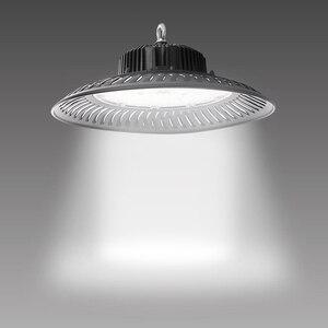 Image 1 - 50 W 200 W UFO LED High Bay Licht Leuchte 14000lm 6500K Tageslicht Industrielle Kommerziellen Bucht Beleuchtung für lager Werkstatt