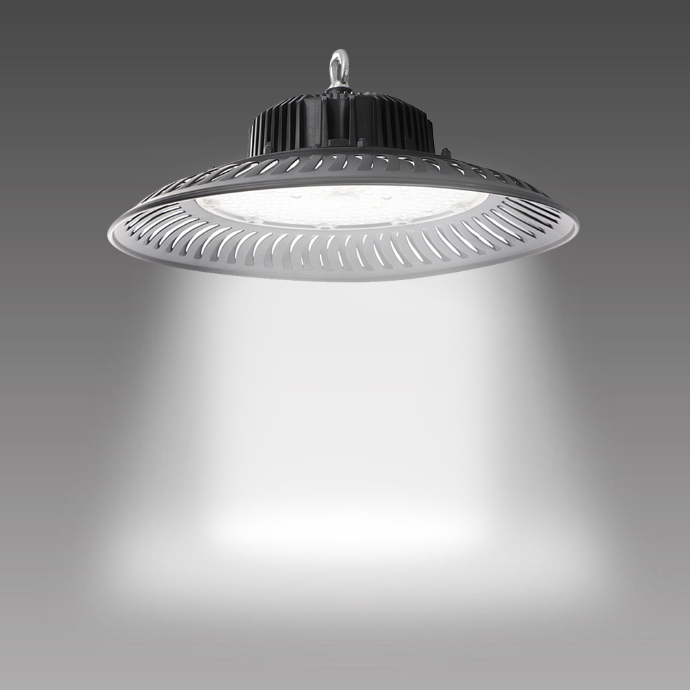 50W-200W UFO LED High Bay Light Fixture 14000lm 6500K Daylight Industrial Commercial Bay Lighting for Warehouse Workshop
