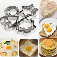12 шт./компл. форма для печенья из нержавеющей стали «сделай сам», форма для выпечки в виде звезды и сердца, инструменты для выпечки, форма для ...