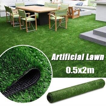 50x200 sztuczna symulacja trawnik przedszkole boisko do piłki nożnej plac zabaw fałszywe zielona trawa szyfrowanie Pet Dog do golfa outdoorowe Decor