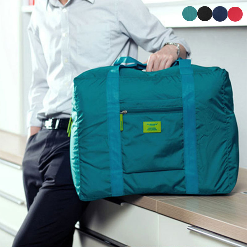 Foldable Waterproof Nylon Travel Bags  Women Men Large Capacity Folding Suitcase Storage Bag Shoulder Bags Weekend Bag