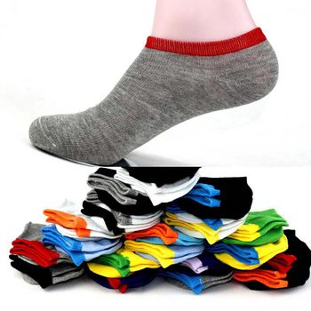 PLUFR-C  MEN Soft Stealth  SOCKS  FEW COLORS Breathable Shallow
