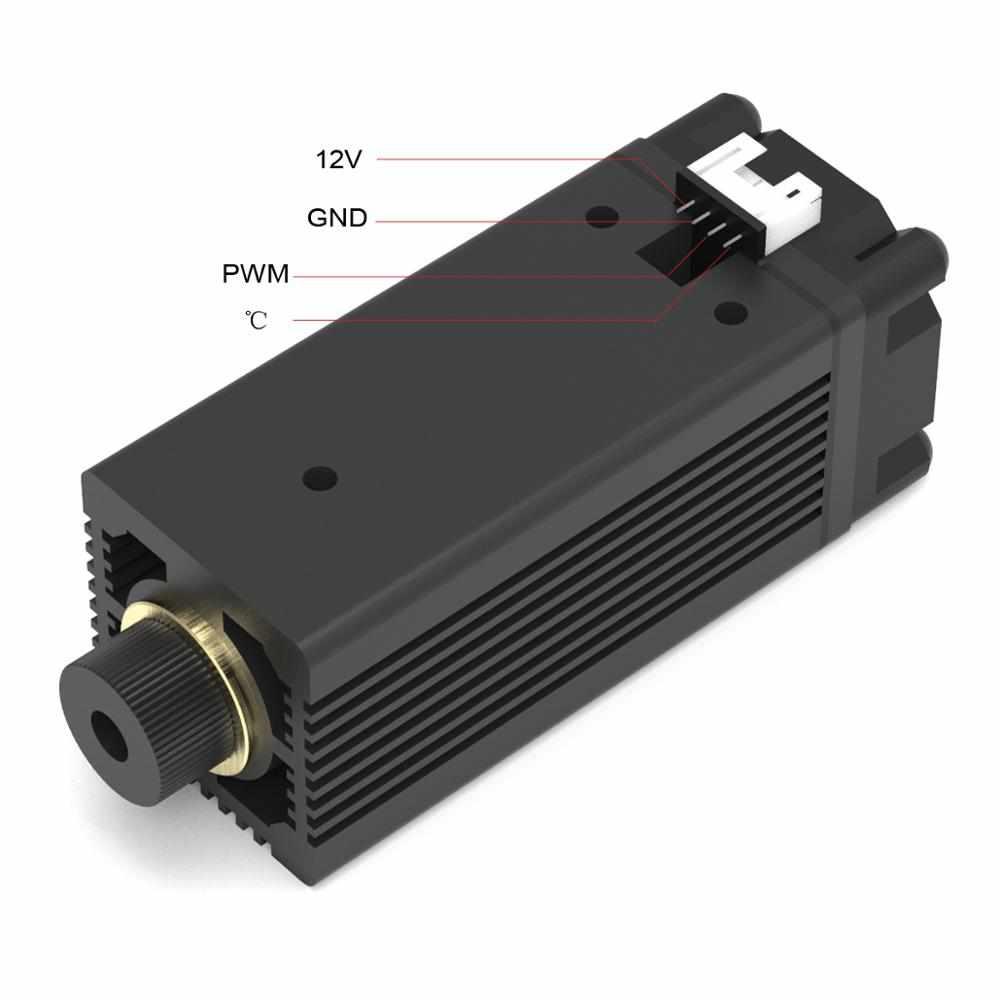 3500 mw 405nm laser modul kopf für NEJE MASTER laser gravur maschine ersatz
