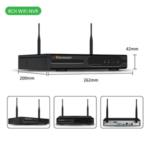 Image 5 - Einnov 4CH 1080P חיצוני וידאו מעקב אבטחה אלחוטית ערכת CCTV NVR Wifi IP מצלמה אודיו סט HD p2P Onvif