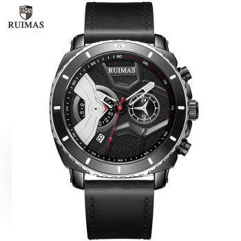 Ruimas Men Watches Leather Strap RL552G