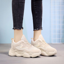 SWYIVY حذاء أبيض الشتاء النساء منصة أحذية رياضية أسود المخملية الفراء الدافئة شتاء 2019 حذاء كاجوال الإناث الشتاء أحذية رياضية Womans