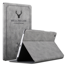 Case for Huawei MediaPad M6 10.8 2019 Slim Retro Folding Stand PU Leather Smart Cover Tablet Funda