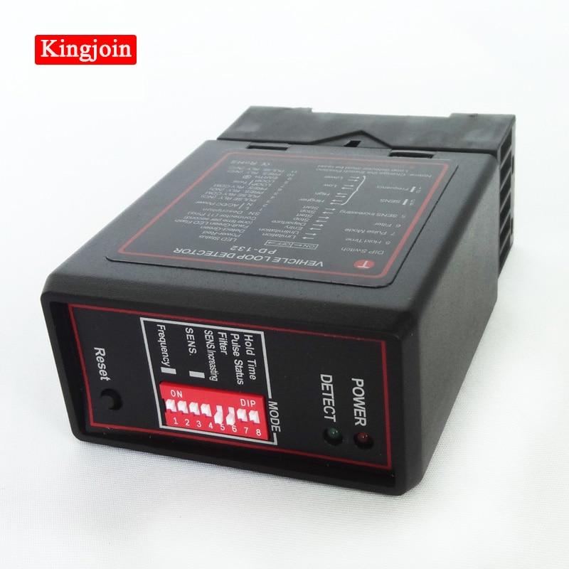 Vehicle Detector Signal Control Ground Sensor AC220 AC110V DC12 DC24V Ground Single Channel Sensor Circuit Detector