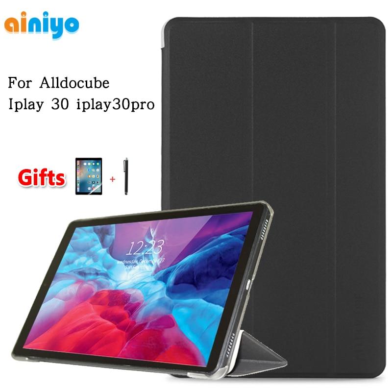 Чехол для Alldocube Iplay 30 Iplay30pro 10,5 дюйма, Ультратонкий чехол из искусственной кожи для планшетного ПК Iplay30 Iplay30 Pro + Подарочная пленка