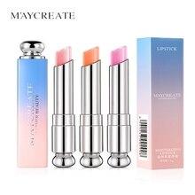 Maycreate Gradient Lipstick Moisturizing Color Changing Lasting Waterproof Lip B