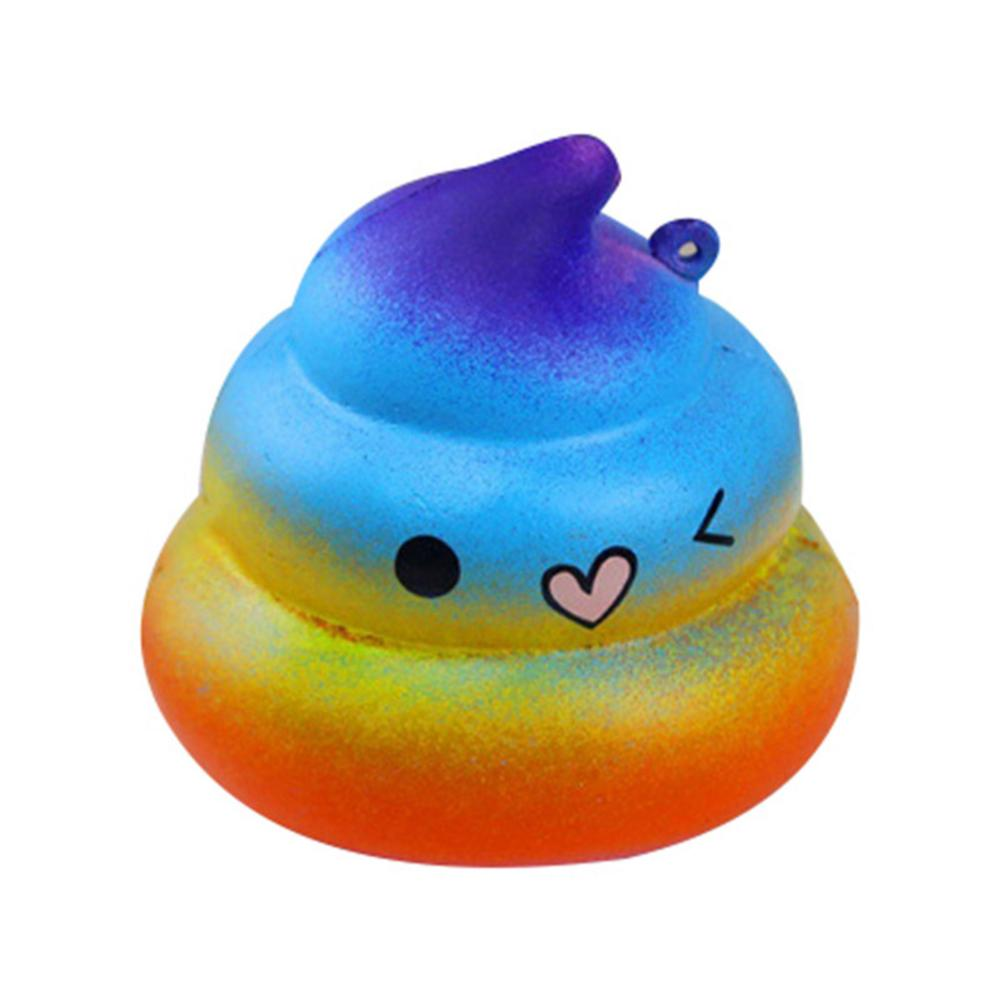 Color Squishyy Toys Gag-Funny Joke Tricky Toys Mischief Turd Gag Gift Realistic Shits Poop Fake Turd Classic Shit Funny Toys