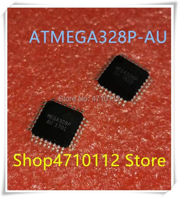 NEW 10PCS/LOT ATMEGA328P-AU ATMEGA328P AU MEGA328P QFP-32 IC