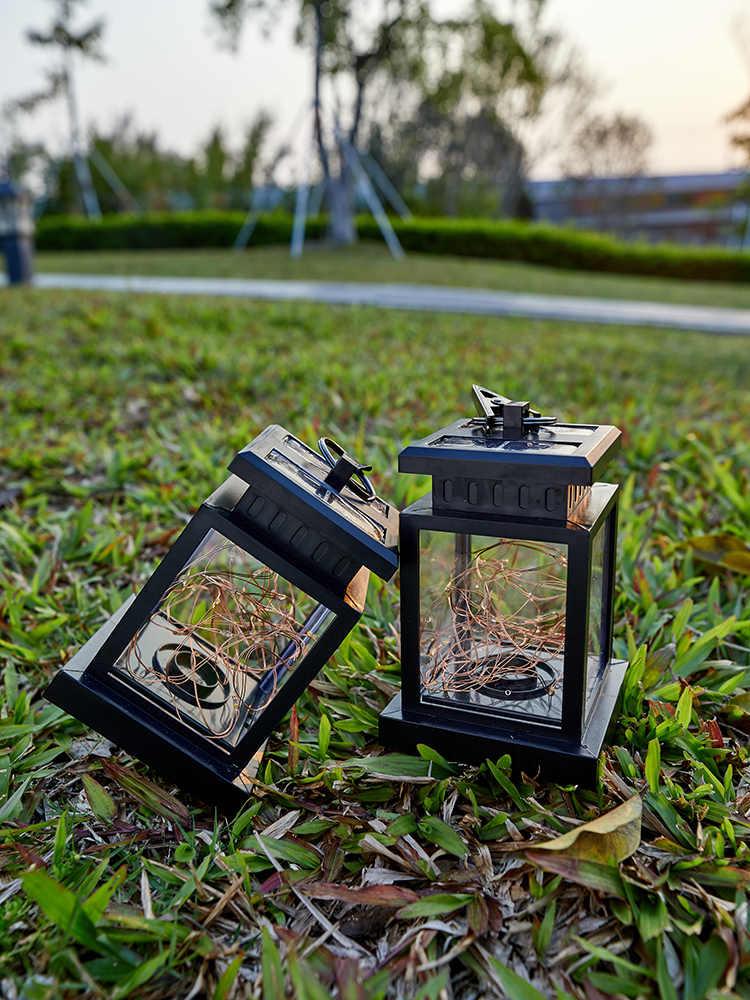 MOONSHADOW Solar Lampe Platz Solar Garten Lichter für Outdoor Platz Fairy Lichter für Party Balkon