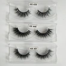 Hexuan 30pairs for 3 styles false eyelashes fake lashes long makeup 3d mink  eyelash extension beauty