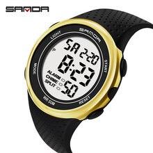 Часы наручные sanda Мужские Цифровые спортивные модные водонепроницаемые
