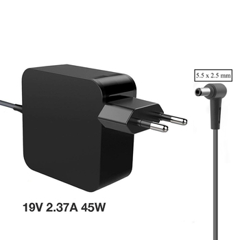 EU US 19V 2.37A 45W 5.5*2.5mm AC Laptop Charger Power Adapter For ASUS A52F X450 X450L X550V X501LA X550C X551CA X555 ADP-45BW asus laptop adapter 19v 3 42a 65w 5 5 2 5mm adp 65dw a adp 65aw a ac power charger for asus x550c a450c y481c notebook