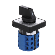 цена на LW28-20 LW26 Series Electric 4 Positions 12 Terminals Rotary Cam Changeover Switch With Screws Useful Tool 660V 20A