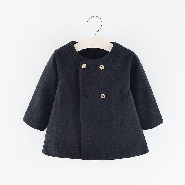 Baby Girl's Warm Coat 4