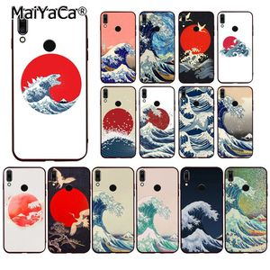 Чехол для телефона MaiYaCa Hokusai The Great Wave для huawei P20 P30 P20Pro P20Lite P30Lite P Smart P10Lite