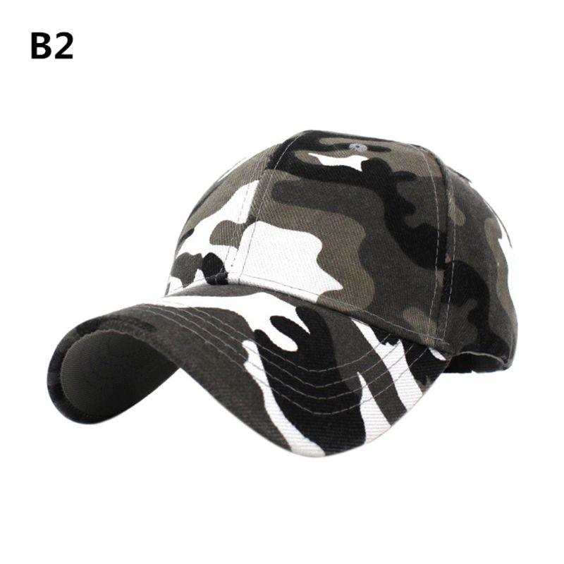 Camuflagem boné de beisebol camo malha chapéu
