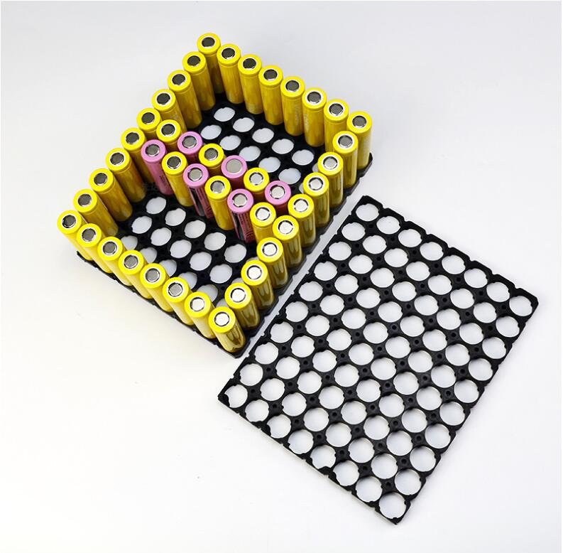 21700 8*10 Batteries support support cellule sécurité Anti Vibration en plastique cylindrique batterie supports pour 21700 Batteries au Lithium