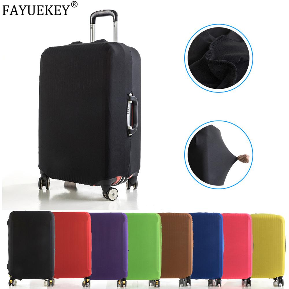 High Elastic Suitcase Case Travel Trolley Suitcase Protective Cover 18-32 Inch Travel Accessories Luggage Cover Dust Cloth