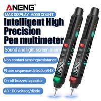Multímetro Digital A3008, pluma con Sensor inteligente automático, medidor de voltaje sin contacto, polimetro, 6000 recuentos, nuevo