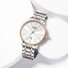 CADISEN Sapphire Automatic Mechanical Watch Men Japan NH35 M