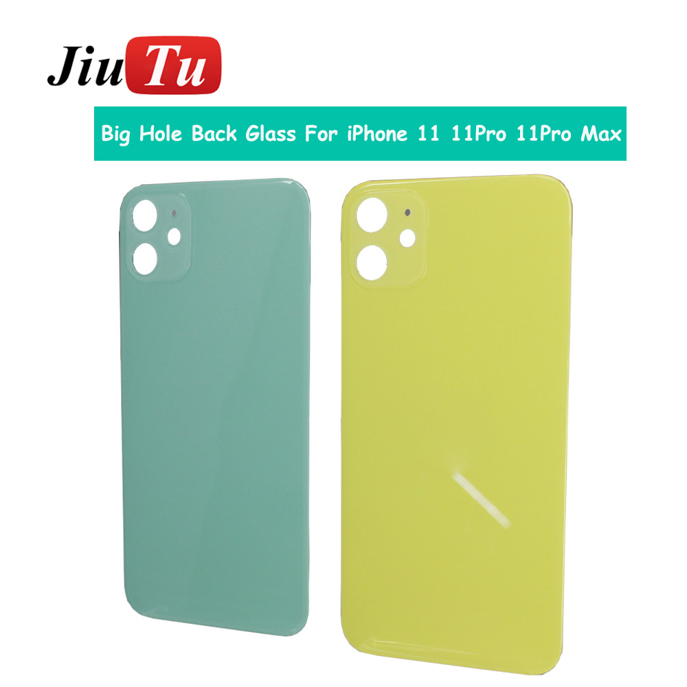 Back Cover Glass Rear Housing For iPhone X 8 Plus XS XSMAX Rear Door Body Assemble Housing with big hole (2)