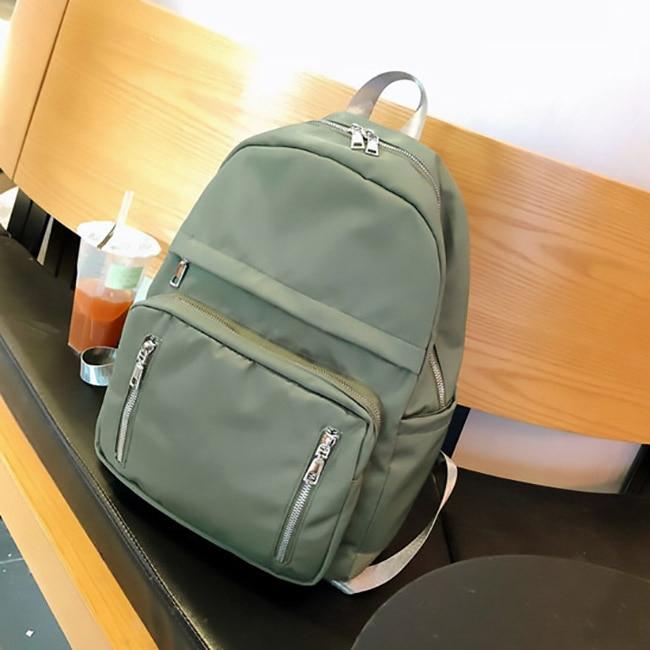 Image 4 - Fashion Backpack Women Backpack waterproof Students bookbag bagpack Large Capacity Shoulder Bag Multi pocket Backpack Women 2020Backpacks   -