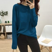 Cashmere Sweater Women's O-neck Wool Pullover Long Sleeve Slim Knitted Solid Color tops Ladies Bottoming Sweater(China)