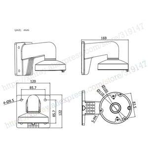 Image 5 - Hikvision Chân Đế DS 1272ZJ 110 Cho DS 2CD21xx Series Và DS 2CD31xx SeriesWall Gắn Chân Đế